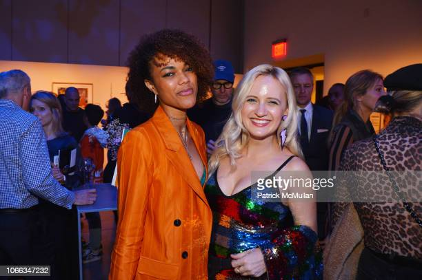 Stacilee Warren and Annika Connor attend 24th Annual ARTWALK NY at Spring Studios on November 28 2018 in New York City