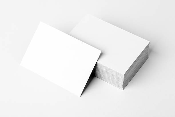 Free business card blank images pictures and royalty free stock stack of a blank business card business cards blank mockup reheart Gallery