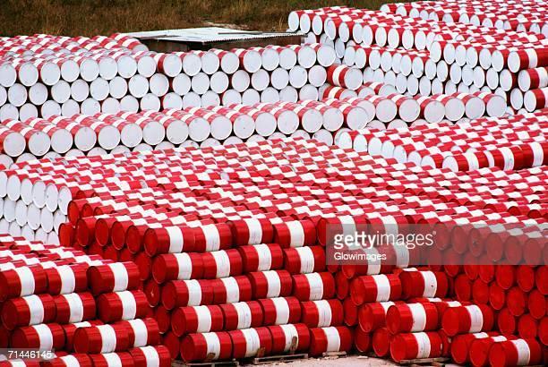stack of barrels, salvador, brazil - oil barrel stock pictures, royalty-free photos & images