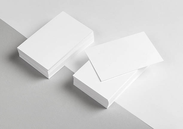 Free business card blank images pictures and royalty free stock a stack of blank business cards and letterhead colourmoves