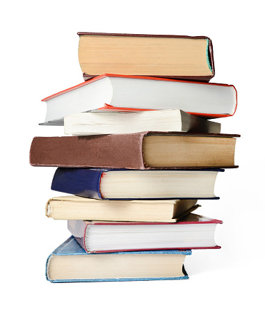 stack of books 1095931700
