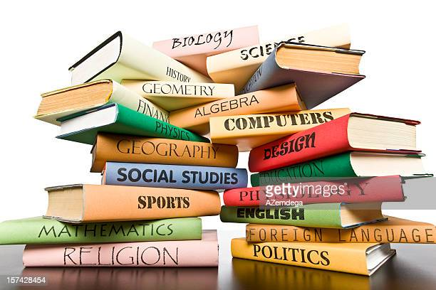 stack of books - high up stock pictures, royalty-free photos & images