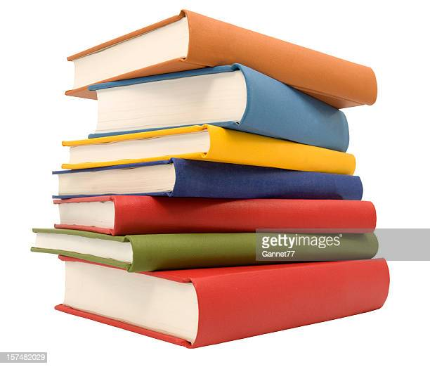 stack of books - boek stockfoto's en -beelden