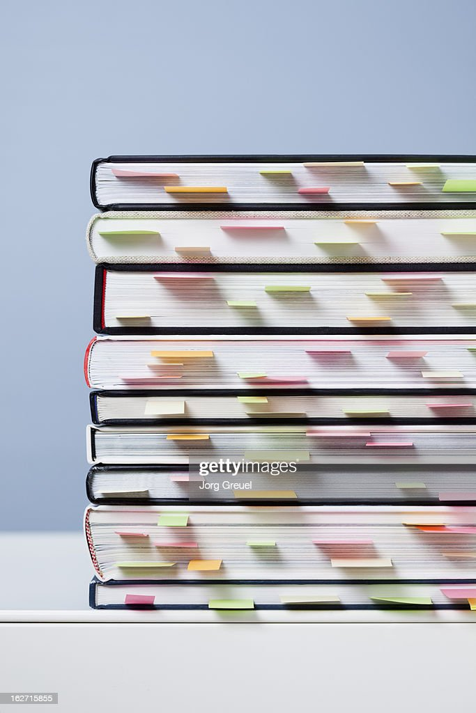 A stack of books : Stock Photo