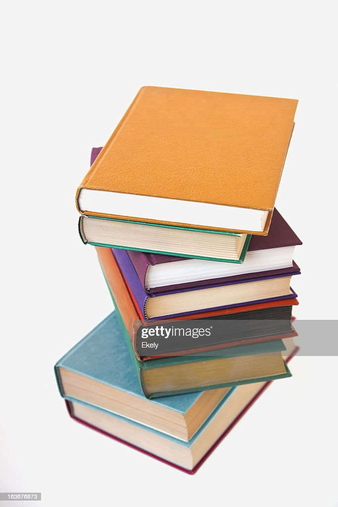 Stack of books. : Stock Photo