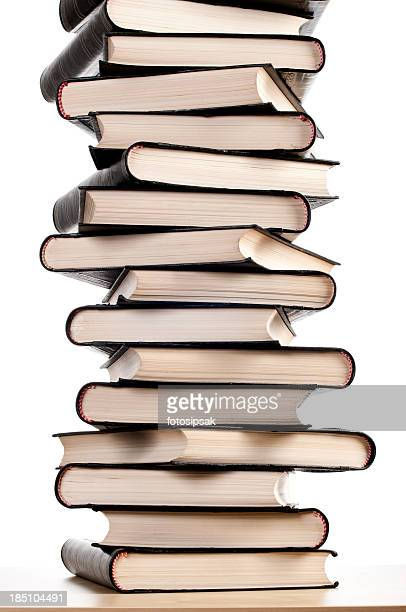 stapel bücher - enzyklopädie stock-fotos und bilder