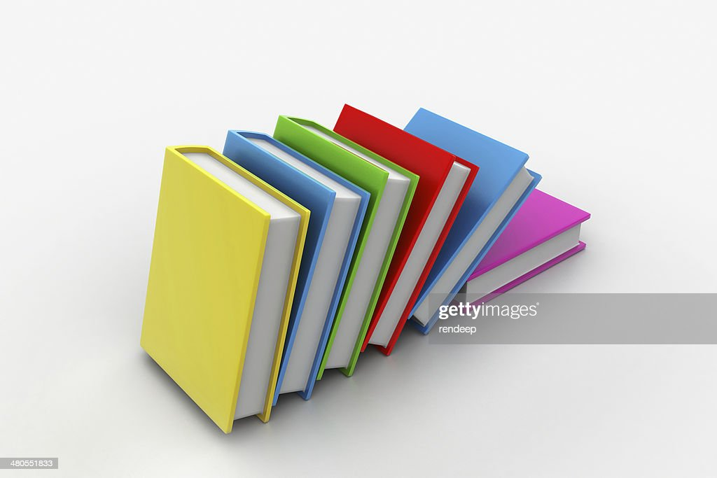 Stack of books : Stock Photo