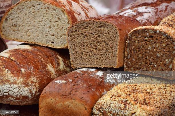 stack of breads - wholegrain stock pictures, royalty-free photos & images