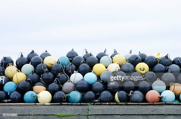 Stack of buoys