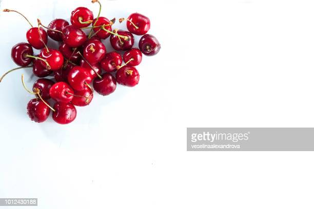 Stack of cherries