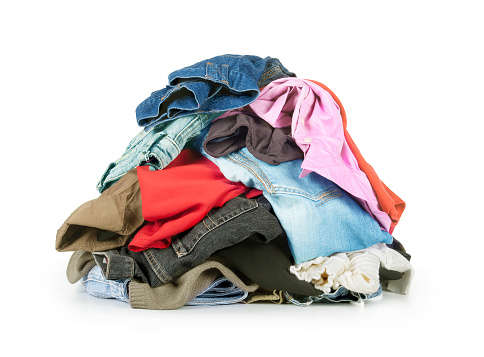 stack of clothes 480070518