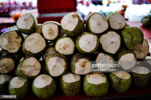 Stack Of Coconuts