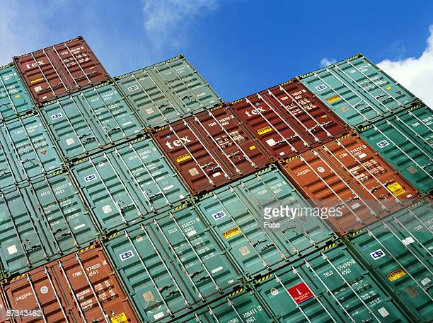 Stack of containers