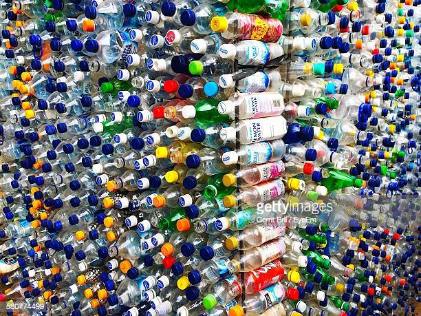 Stack Of Empty Bottles