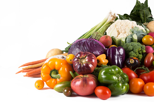 Stack of Fresh Vegetables 1018962992