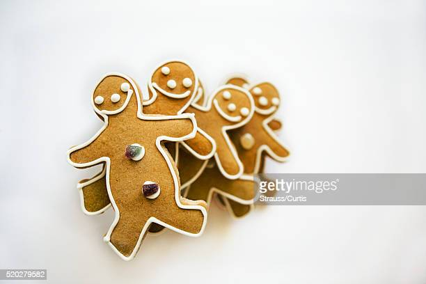 Stack of gingerbread men