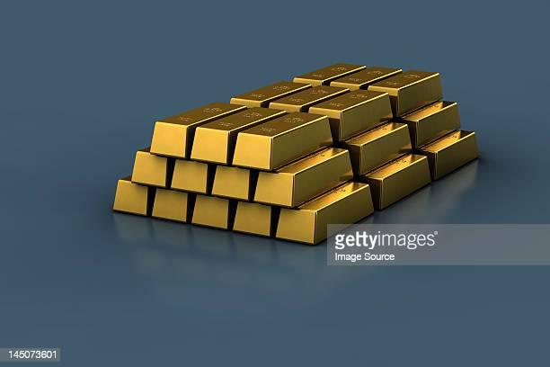 Stapel gold bars