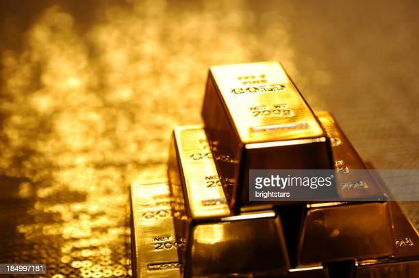 Stapel gold bars