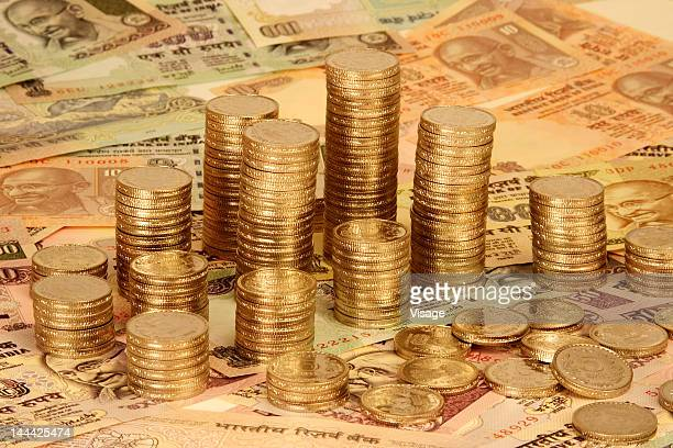 Indian Rupee Note Stock Photos And Pictures