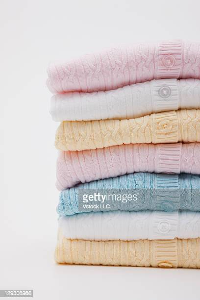 Stack of jumpers