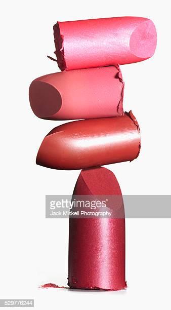 Stack of lipstick