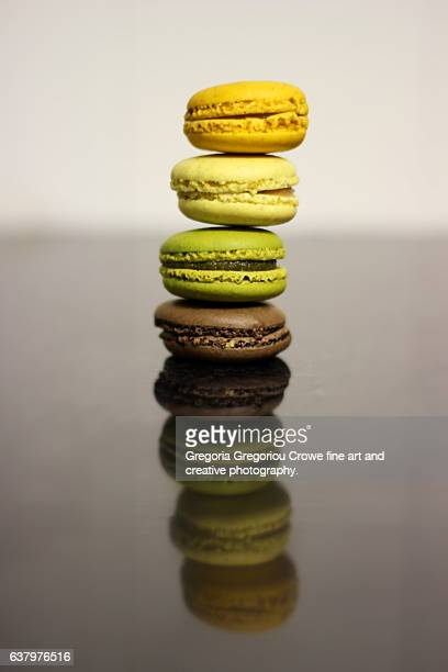 stack of macaroons - gregoria gregoriou crowe fine art and creative photography. stock pictures, royalty-free photos & images
