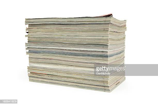 スタックの雑誌 - 束 ストックフォトと画像