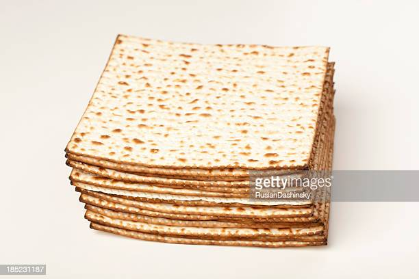 Stack of matzot.
