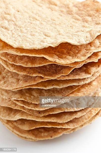 Stack of Mexican Tostadas