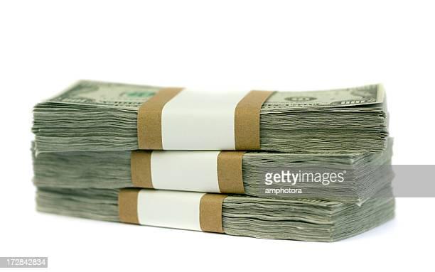 pila di soldi - catasta foto e immagini stock