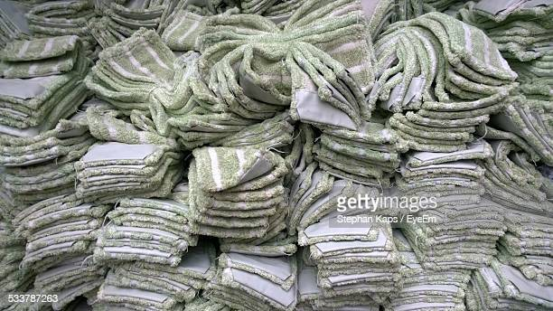Stack Of Mop Rags