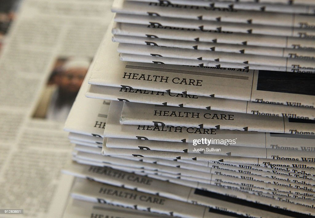 Newspaper Company Stock Prices Show Signs They May Have Bottomed Out : News Photo