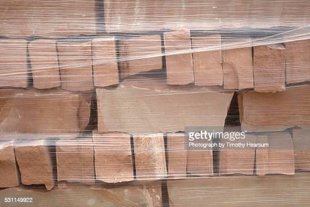 stack of stone bricks - timothy hearsum bildbanksfoton och bilder