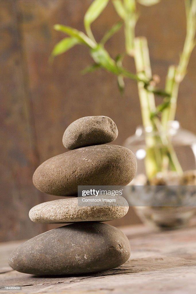 Stack of stones : Stockfoto