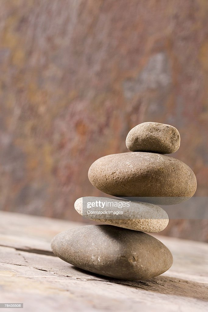 Stack of stones : Stockfoto