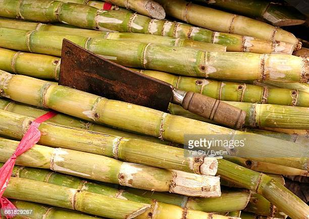 Stack Of Sugar Canes