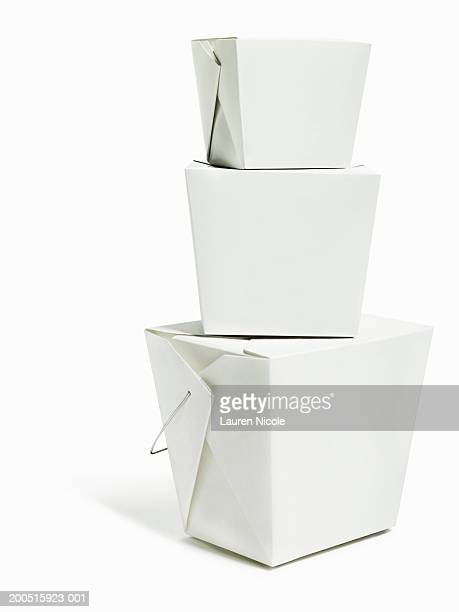 Stack of take-out containers