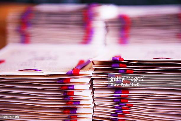 Stack Of Wedding Invitation Cards