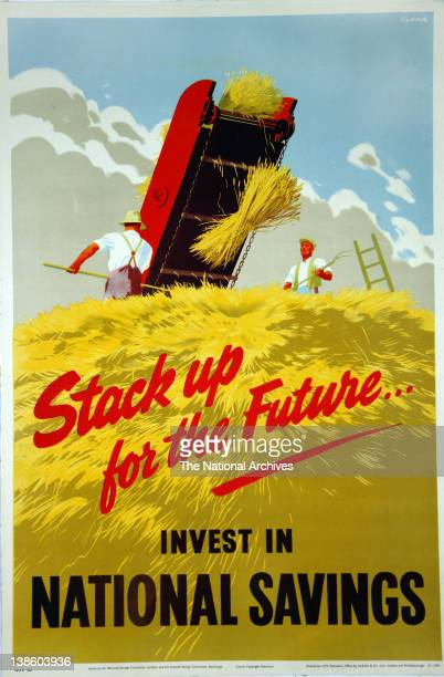 Stack up for the futureinvest in National Savings 1945