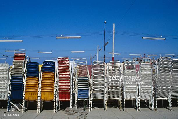 Stackable chairs Palermo Sicily
