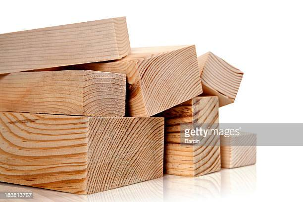 stacked lumber - plank timber stock photos and pictures