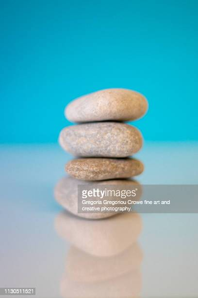 stacked river rocks - gregoria gregoriou crowe fine art and creative photography. stock pictures, royalty-free photos & images
