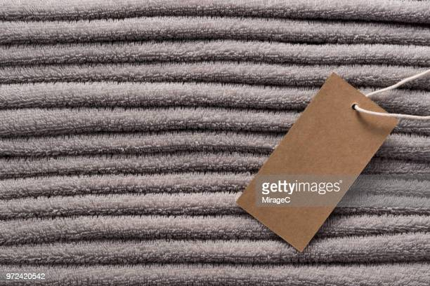 Stacking Terrycloth with a Tag