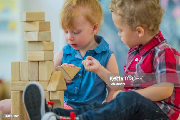 Stacking Wood Blocks