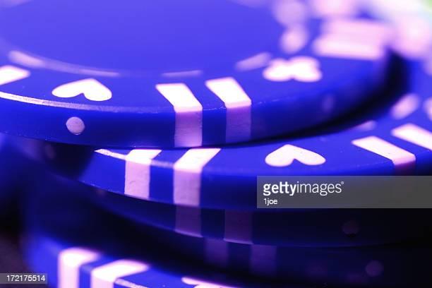 pilha-o-blue - ficha de apostas - fotografias e filmes do acervo