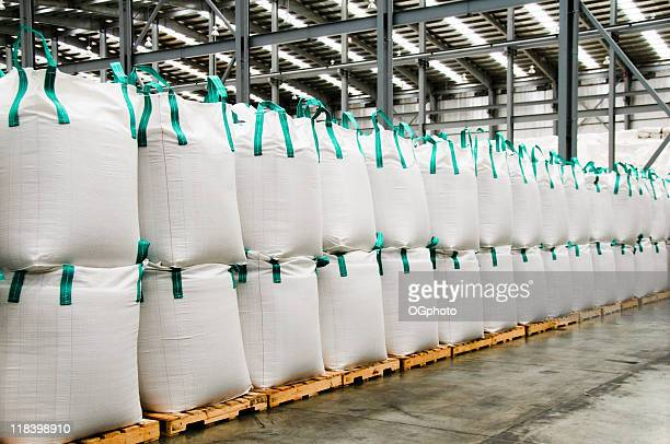 stacks of sacks. - sack stock pictures, royalty-free photos & images