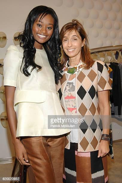 Stacy Ann Fequiere and Consuelo Castiglioni attend MARNI Boutique Miami Private Opening at Marni Boutique on December 2, 2008 in Miami, FL.
