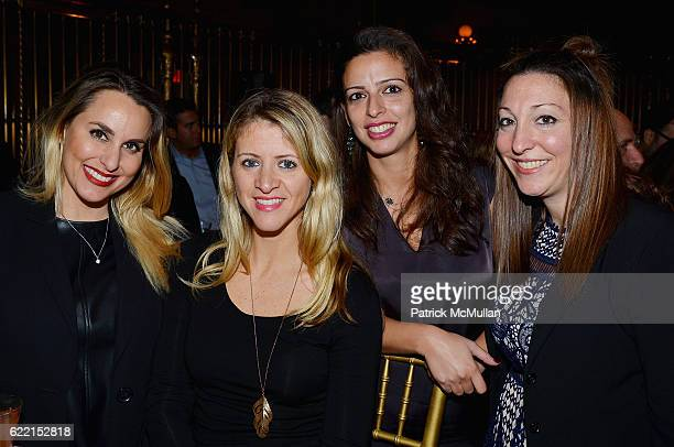 Stacy Artell Denise Kirland Claudia Gomez and Ariana Kaine attend Strolling Supper Lung Cancer Research Foundation's Fourteenth Annual Strolling...