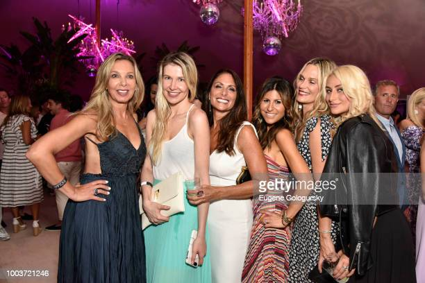 Stacy Bennett Kate Rumson Lynn Scotti Molly Sims Jessica Guetta and Anna Kassar attend the Hamptons Magazine 40th Anniversary Bash By Lawrence Scott...