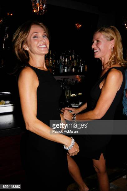 Stacy Carter Cooper and Jill Morris attend NANCY C DONAHUE and HARRY KING Host 70s and 80s Fashion Reunion Party at The Gates on September 22 2009 in...